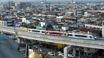 LRT di Palembang Sempat Mogok, Jokowi Tertawa