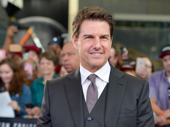 WASHINGTON, DC - JULY 22:  Tom Cruise attends the U.S. Premiere of Mission: Impossible - Fallout at Smithsonians National Air and Space Museum on July 22, 2018 in Washington, DC.  (Photo by Shannon Finney/Getty Images)