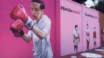 Mural Jokowi Hingga Atlet Nasional Nampang di Solo