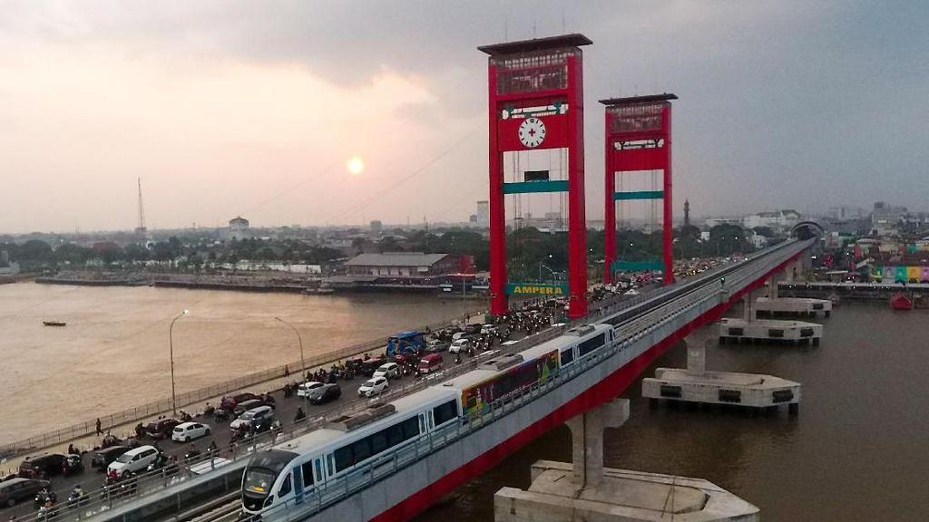 Operasional LRT Palembang akan Diperpanjang hingga Jam 9 Malam