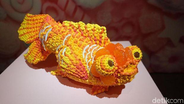 'Museum Cake' Kreasi Seniman Jepang Osamu Watanabe Dibuka di Jakarta