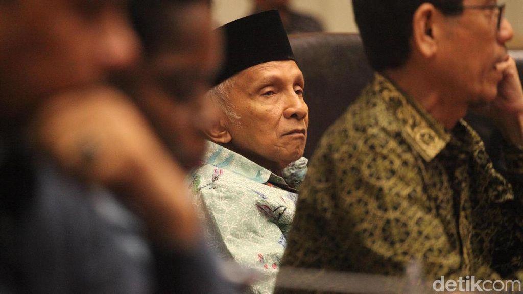 Kasus Mandek di KPK Apa yang Bakal Dibongkar Amien Rais?