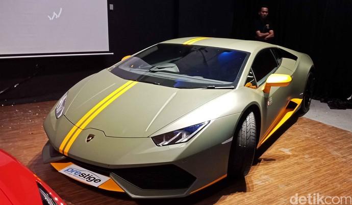 Lamborghini Ini Hanya 1 Unit di Jakarta