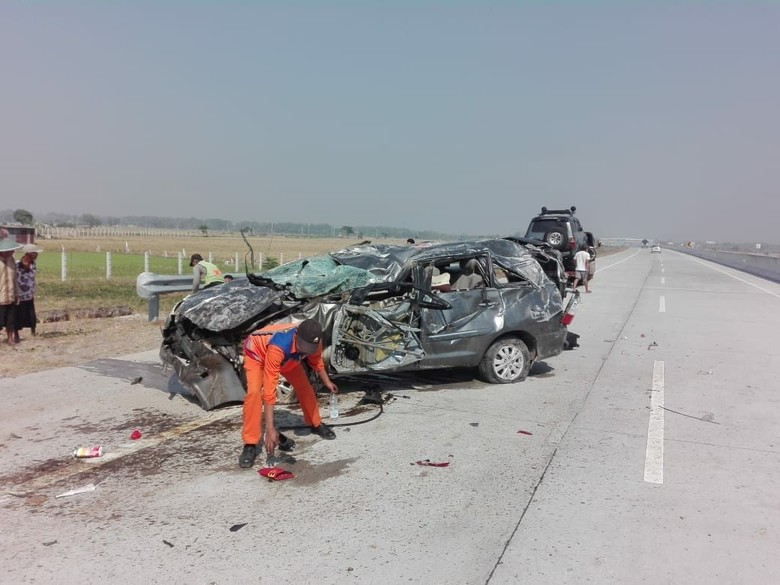 Kecelakaan lalu lintas. Foto: Istimewa