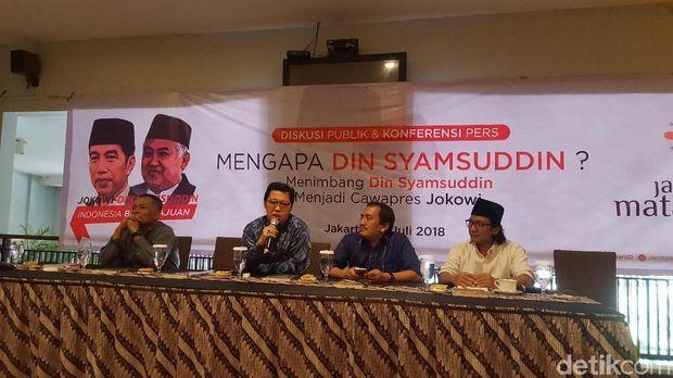 Didukung Relawan, Din Syamsuddin Siap Jadi Cawapres Jokowi