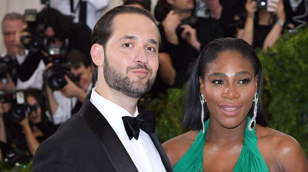 Serena Williams Ngidam Makanan Italia, Suaminya Lakukan Hal Romantis Ini