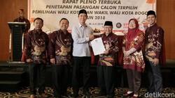 KPU Tetapkan Bima Arya Jadi Walkot Bogor Terpilih