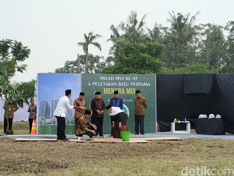 Canda Jokowi Minta CT Ikut Wakaf Pembangunan Gedung Baru MUI