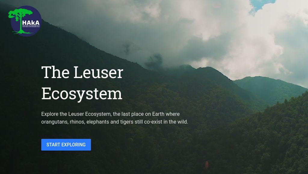 Indahnya Alam Leuser yang Terekam Google Earth