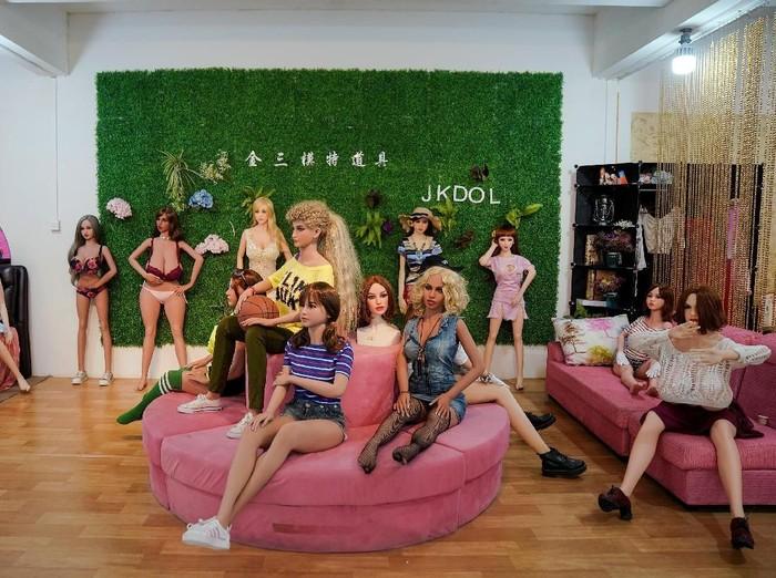 Boneka seks di China yang mirip wanita sungguhan. Foto: REUTERS/Aly Song.