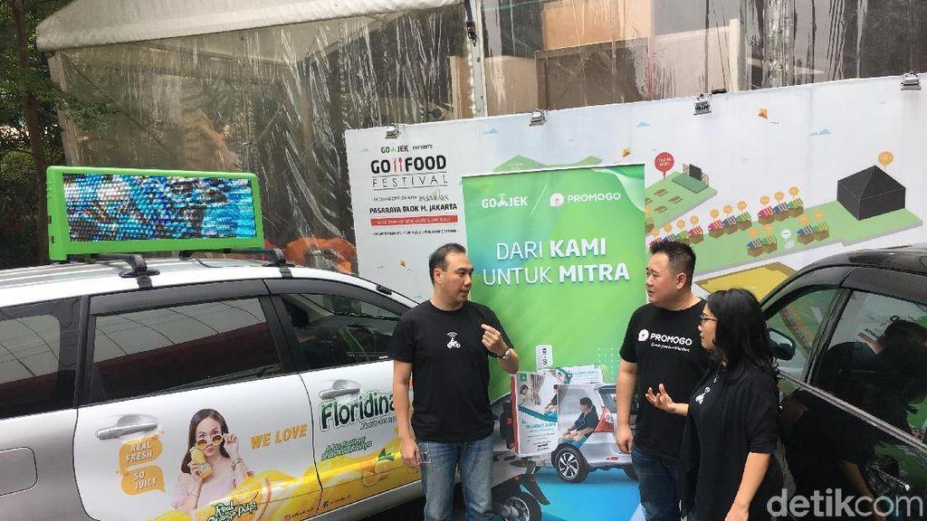 Go-Jek Rayu Driver Raup Tambahan Rp 2 Juta Tiap Bulan
