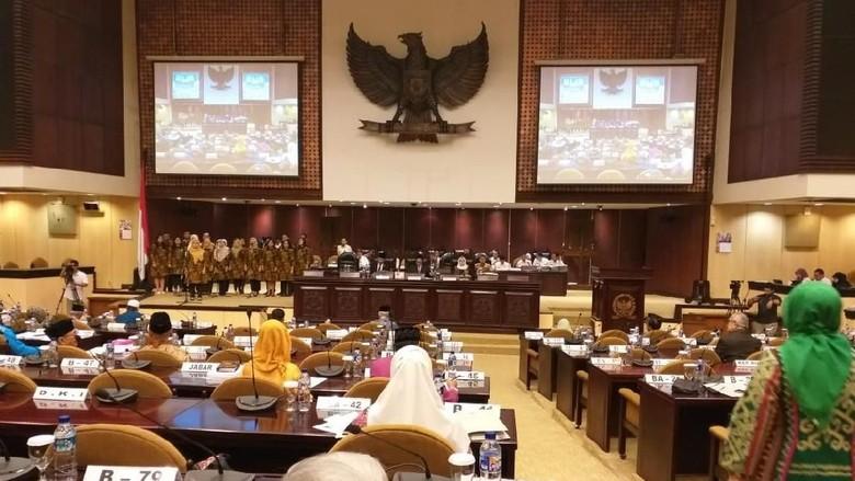 Skorsing Dibuka, Pemilihan Tambahan Pimpinan DPD Dimulai