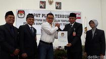 KPU Tetapkan Khadziq-Heri sebagai Pemenang Pilbup Temanggung