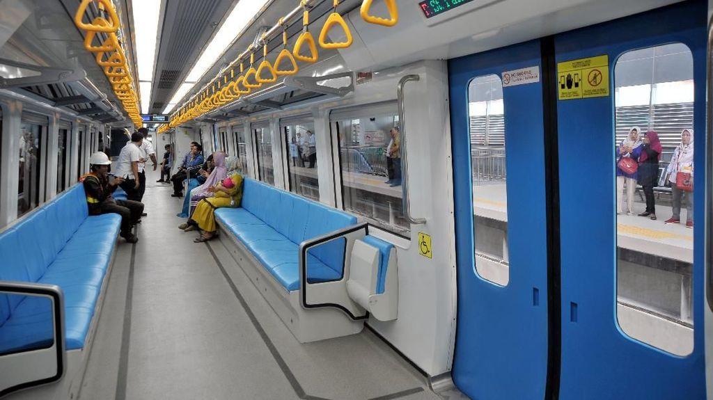 10 Bulan Operasi, LRT Palembang Cuma Terisi 20%
