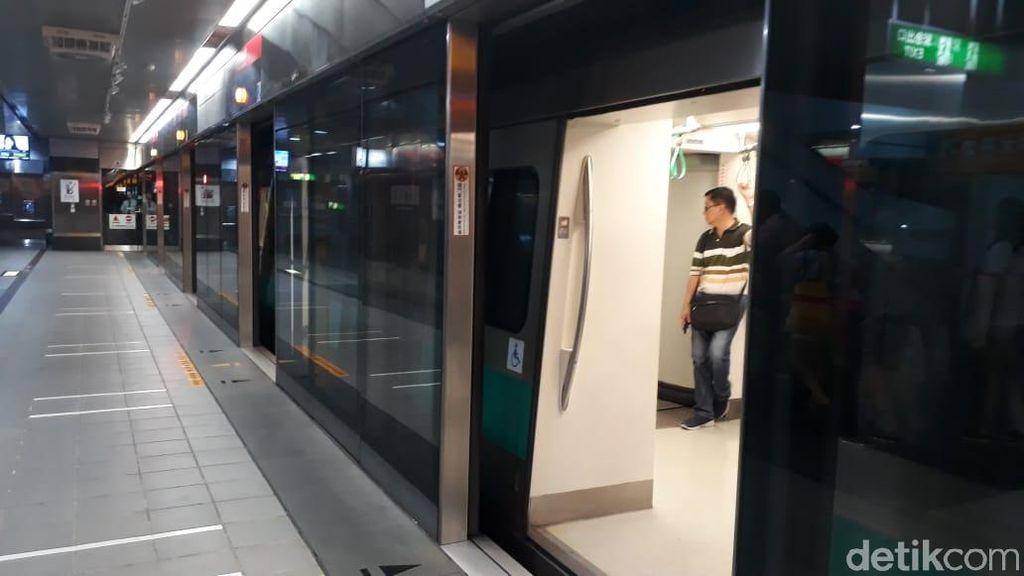Serunya Naik MRT di Taiwan Cuma Bayar Rp 9.500