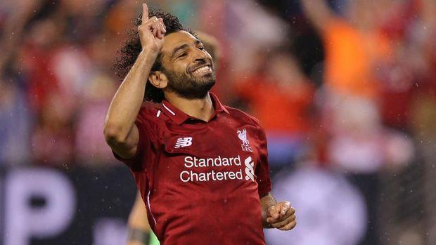 Mohamed Salah menyebut sempat kesulitan menyetir di Inggris. (