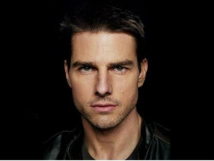 Wajah Tom Cruise saat berusia 34 tahun. Foto: istimewa