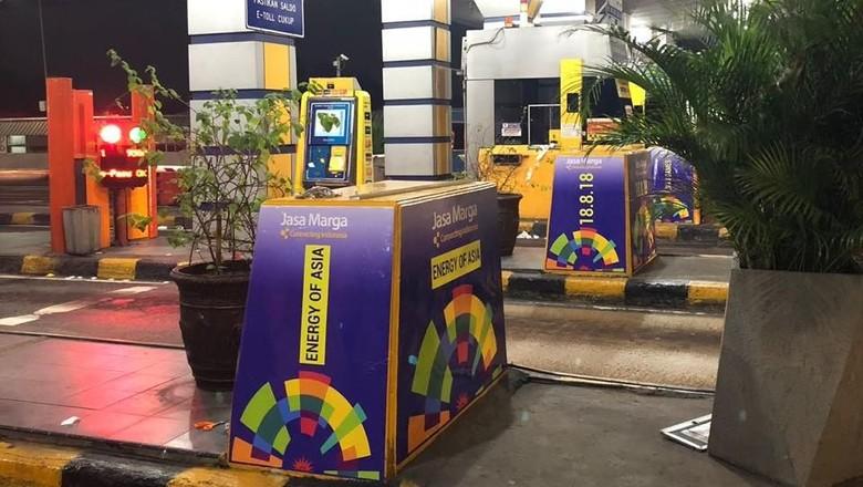 Semarakan Asian Games, Jasa Marga Percantik Jalan Tol