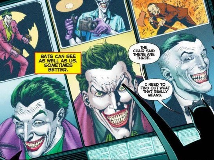 Komik The Three Jokers terbitan DC Comics