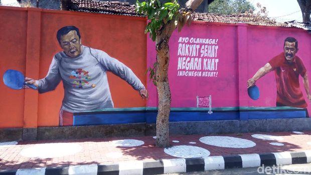 Keren! Cara Warga Kampung di Solo Memeriahkan Asian Games 2018