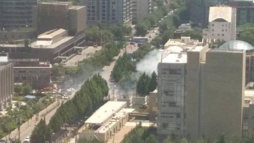Ada Ledakan di Beijing, Bursa China Merosot