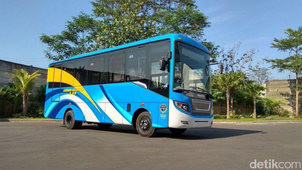 Ini Lho Bus Sekolah dan BRT yang akan Dikirim ke Daerah