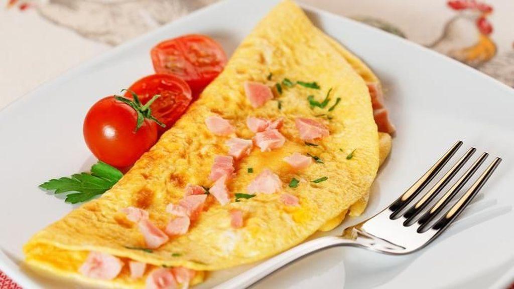 Agar Lebih  Bernutrisi Tambahkan 5 Bahan Ini Dalam Omelet Buat  Sarapan