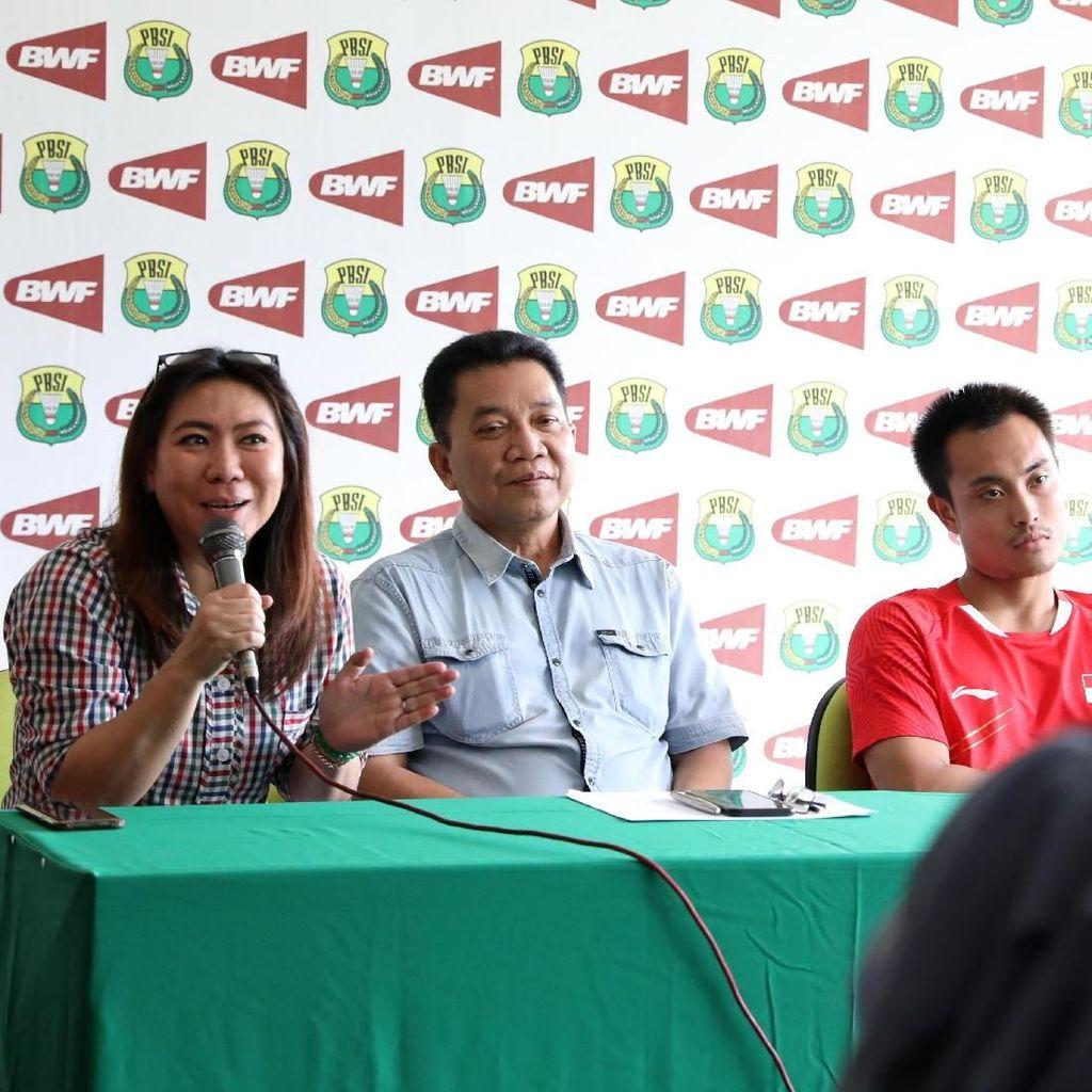 Ini Target Susy Susanti untuk Sektor Tunggal di Kejuaraan Dunia