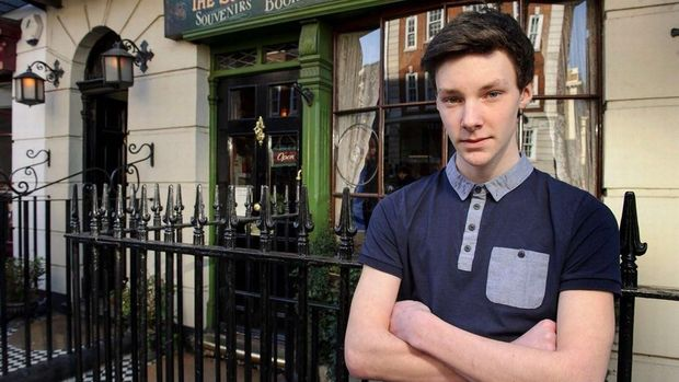 Ini Si Ganteng Tyler Michell, Pemuda yang Mirip Benedict Cumberbatch