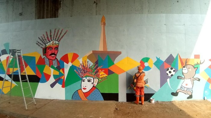 Sandi Soal Lukisan Mural Ppsu Lumayan Bagus