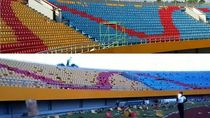 Before-After Stadion Jakabaring Setelah Dirapikan
