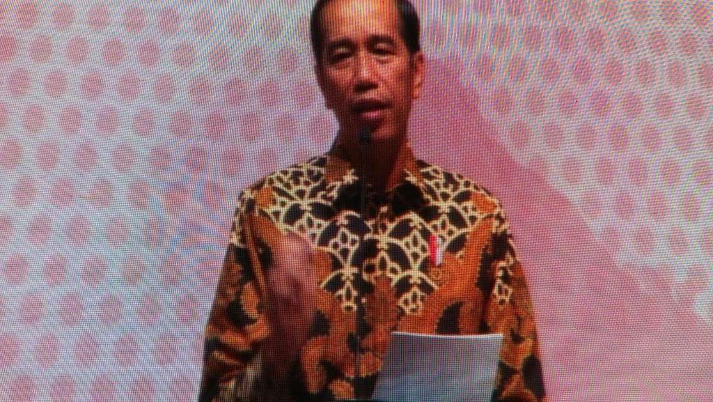 Jokowi Baca Puisi Laut untuk Dunia, Ini Isinya
