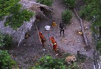 Suku yang belum tersentuh di Vale do Javari (Funai/Survival International)