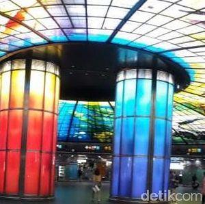 Wah, Mewahnya Stasiun MRT Formosa di Taiwan