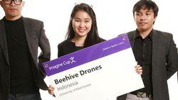 Anak Indonesia Pamer Drone Pertanian di Kancah Internasional