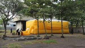 PMK Kota Surabaya Punya Kasur Raksasa, Buat Apa?