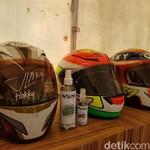Untuk Bikers: Helm Motor Perlu Disemprot Disinfektan untuk Cegah Virus