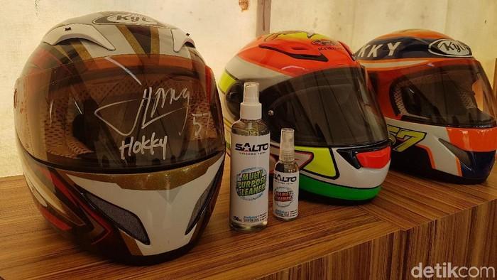 Helm Premium milik komunitas Belajar Helm