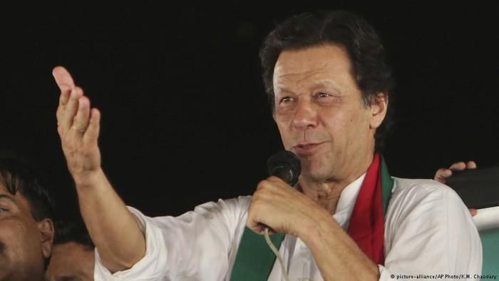Perdana Menteri Pakistan Imran Khan (Foto: DW (News))