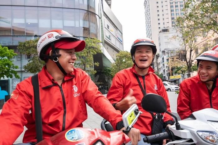 Driver Go-Viet. Foto: Facebook CLB Go-Viet HCM