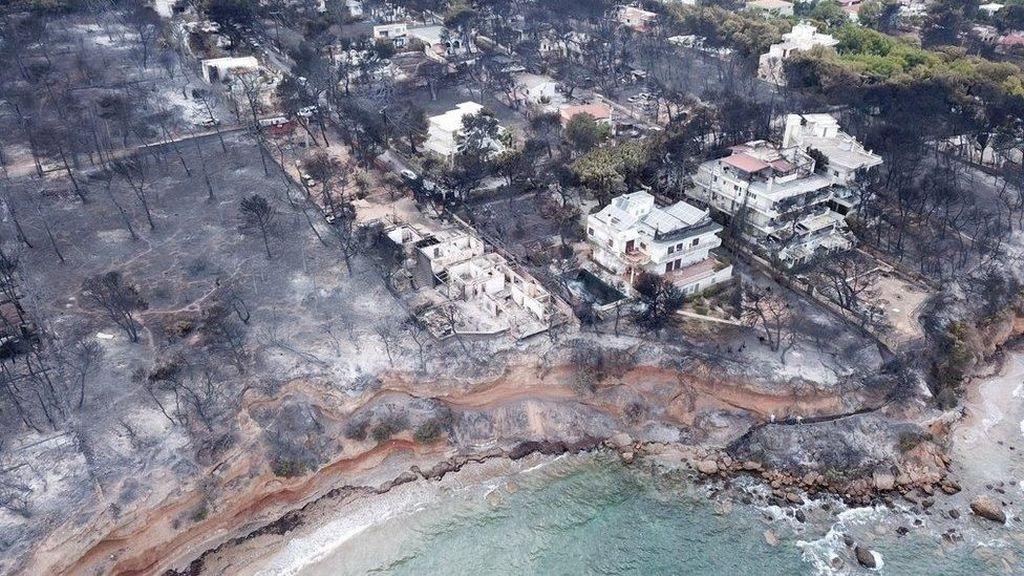 Kebakaran Yunani yang Tewaskan 83 Orang Diduga Disengaja