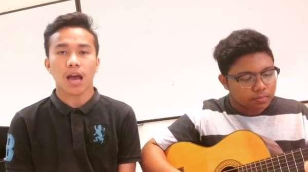 Ini Felix, Pemuda yang Duet Bareng Khalid