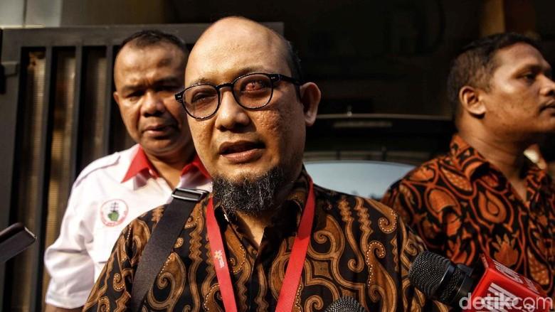 Cuitan Jokowi Soal Novel yang Tak Bunyi