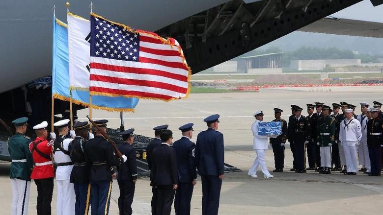 Jasad Tentara AS Diserahkan Korut, Trump: Thank You, Kim Jong-Un!