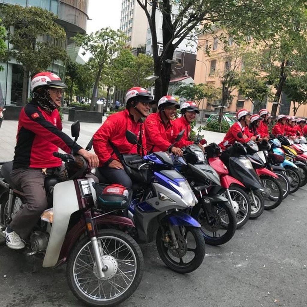 Driver Grab di Vietnam Membelot ke Go-Jek