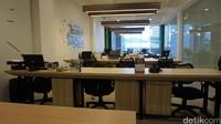 Inilah ruang operasional karyawan yang asyik dan menyenangkan (Shinta/detikTravel)