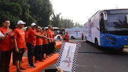 Bus Wonderful Indonesia Layani Atlet Sekaligus Promosi Wisata