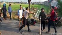 Polisi Redam Bentrok Ojol vs Opang di Bandung