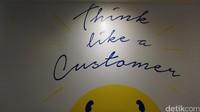 Salah satu desain quote di kantor Tiket.com (Shinta/detikTravel)