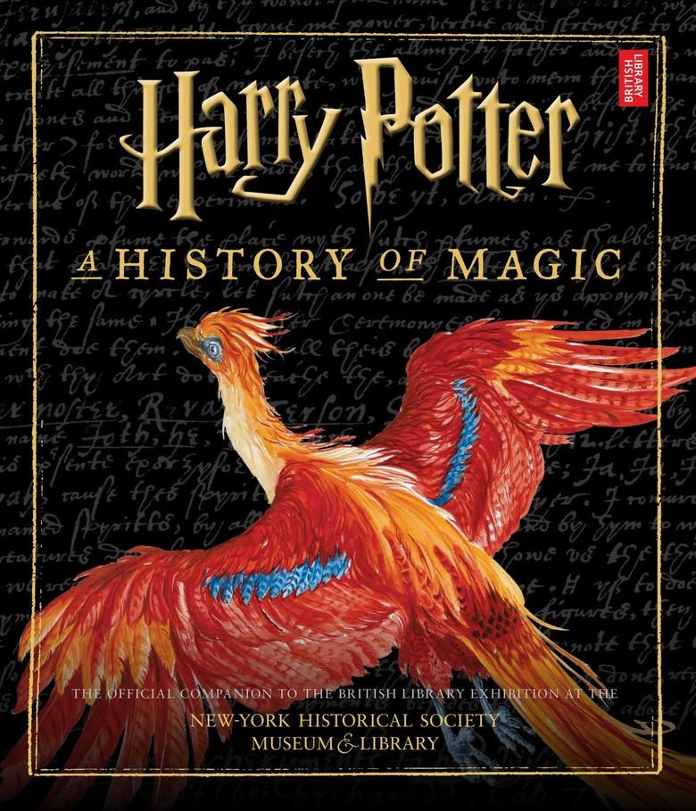 Burung Phoenix Hiasi Buku Harry Potter: A History of Magic